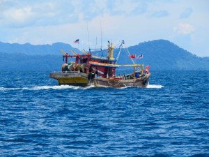 Malay fishing boat