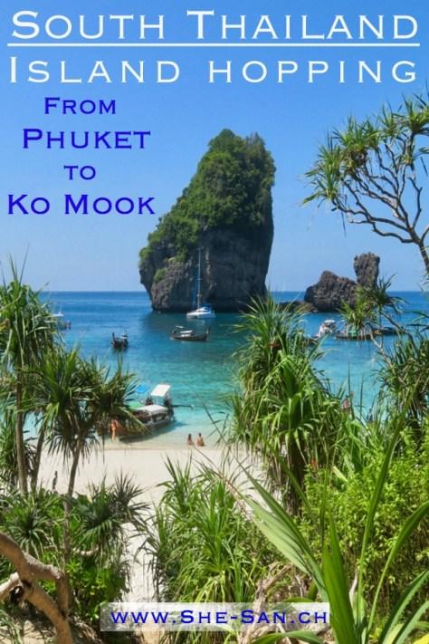 Island hopping in Thailand - Koh Ha, Koh Phi Phi, Koh Lanta, Koh Mook and Koh Roi