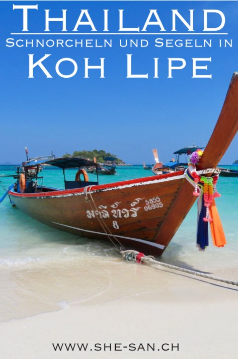 Schnorcheln und Segeln in Koh Lipe Thailand