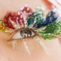 Dramatically Special Occasion Fantasy Eye Makeup