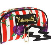 Betseyville Naughty Roses 3 Piece Cosmetic Bag
