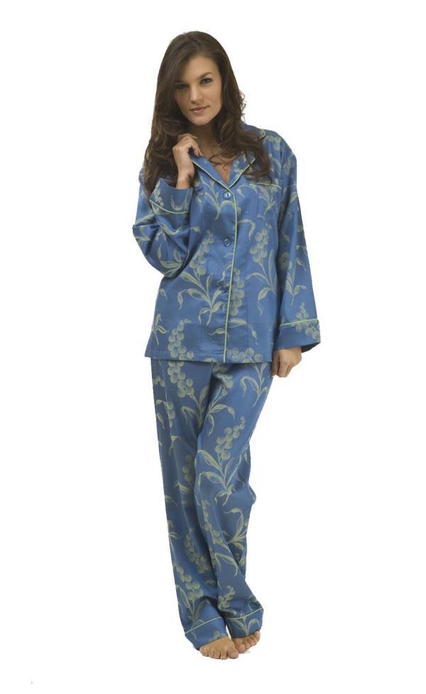 Winter Sleepwear Pajama Shirt Women Night Dress She12 Girls Beauty Salon