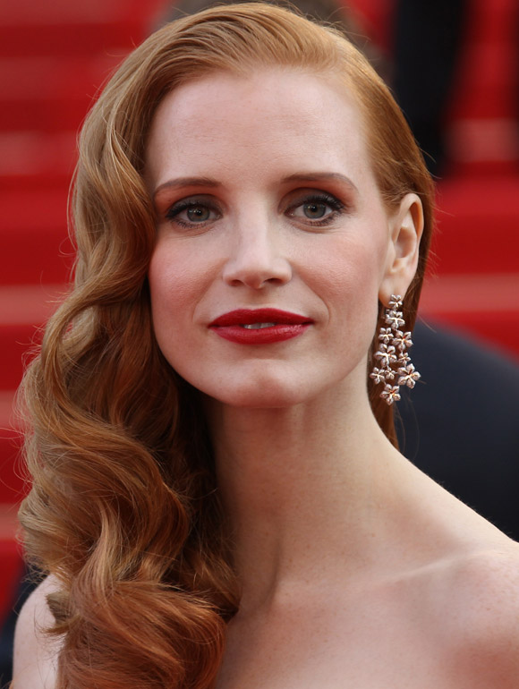 Jessica Chastain Hairstyle Of The Week Cannes 0512 1