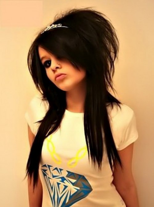 Emo Hairstyles For Girls New Trend She12 Girls Beauty Salon