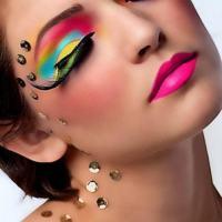 Dramatic Exotic Eye Color Makeup