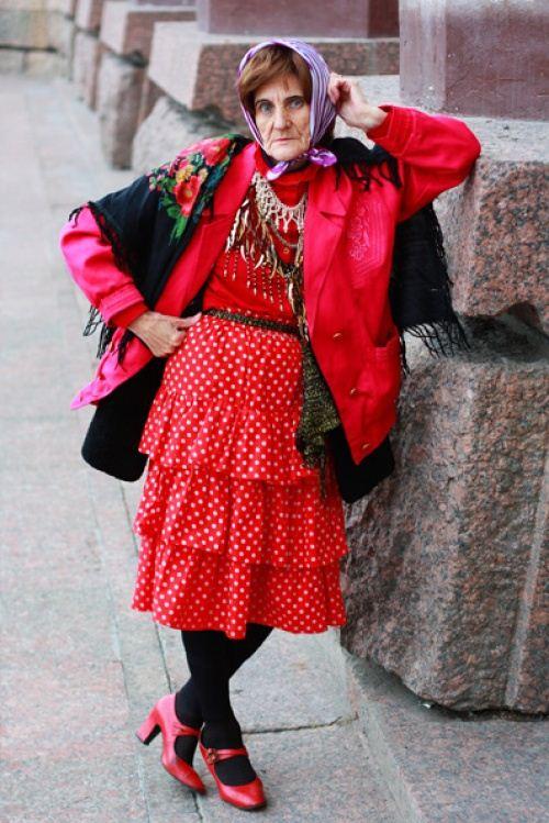 old lady fashion she12