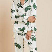 Olivia Von Halle Night Wear Winter Suit