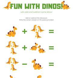 1st Grade Math Worksheets (Addition + Subtraction)   Free Printable PDF [ 2000 x 1414 Pixel ]