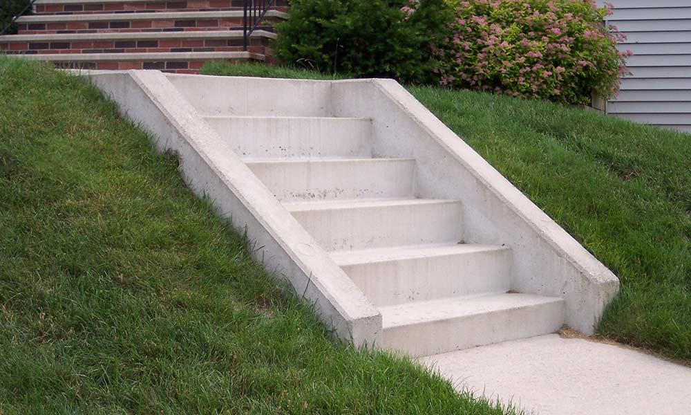Steps and Bulkheads  sheaconcretecom