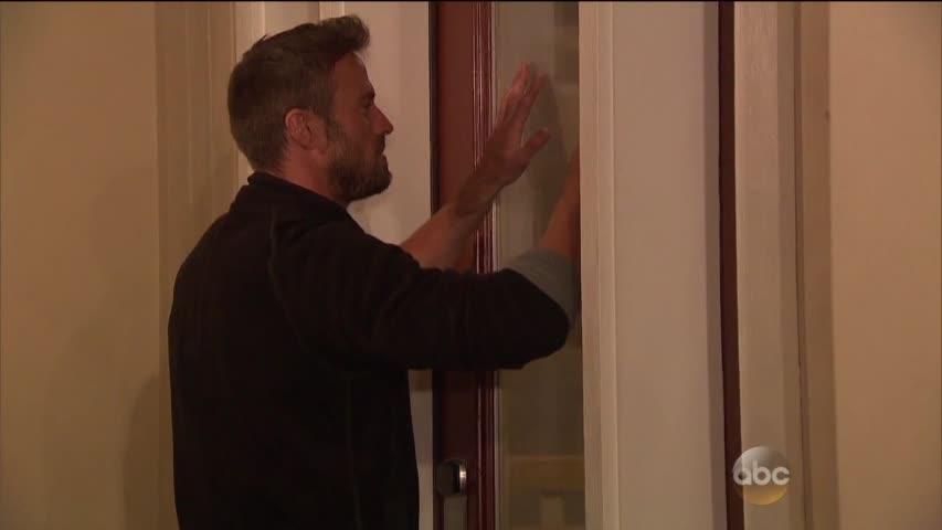 chad scraping door