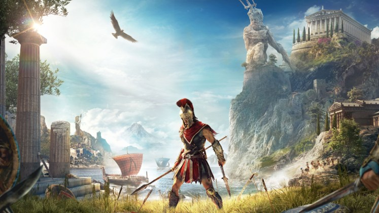 Assassin's Creed Odyssey splash poster