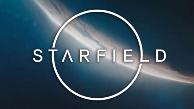 Starfield title card reveal