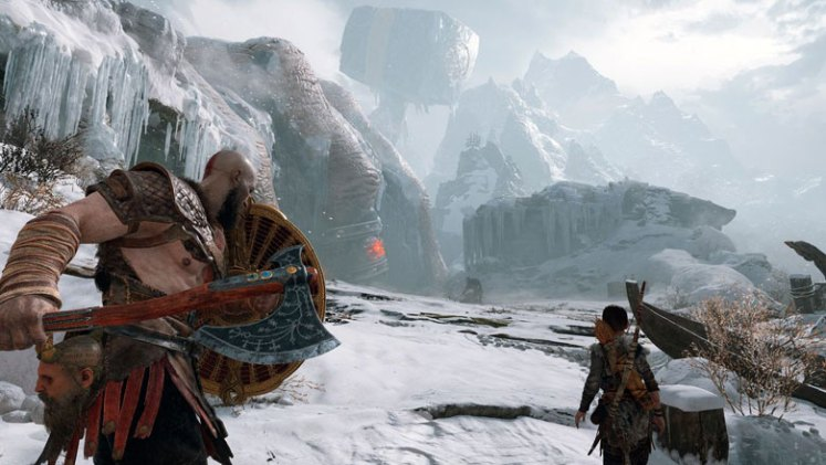 God of War Snowy Mountain