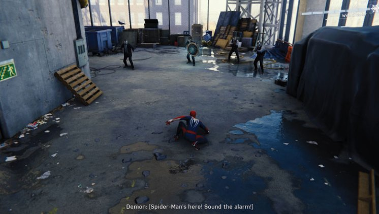 Spider-Man Review: Combat