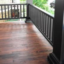 Diy Remove Paint & Refinish Front Porch Wood Flooring