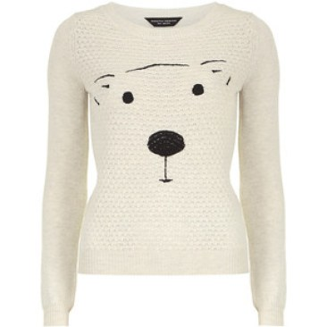 Cuteoat Quilted Bear Jumper £28 from Dorothy Perkins