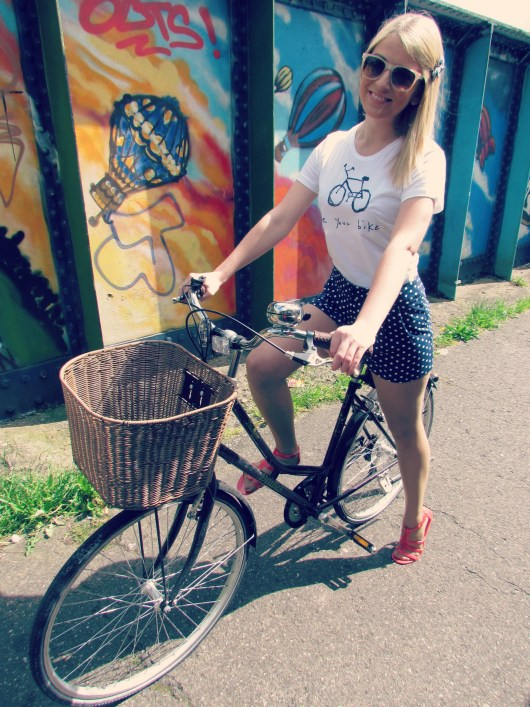 She and Hem - Ride Your Bike - Outfit of the Day - Bristol