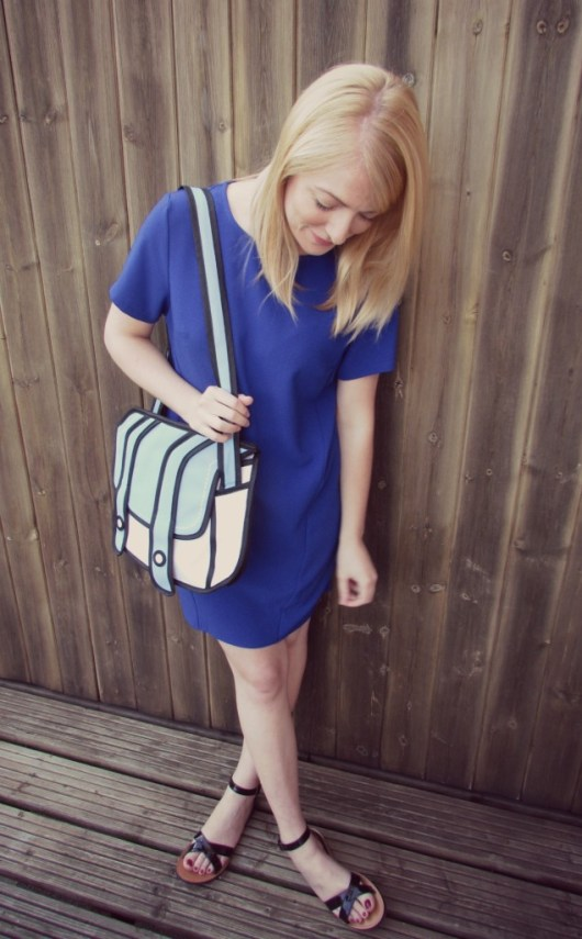 Outfit of the Day: Black and Blue She and Hem
