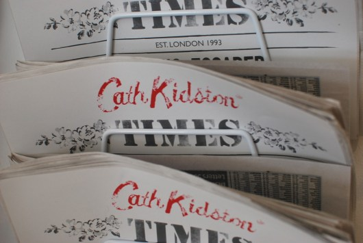 Cath Kidston AW14 Press Show via She and Hem