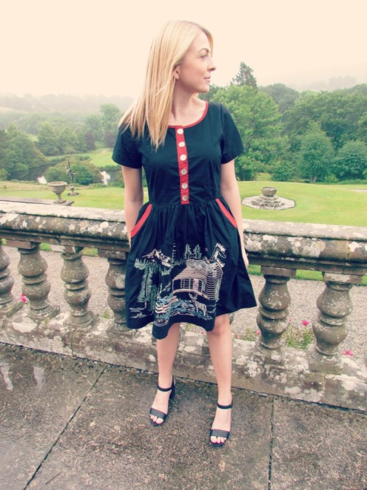 Bovey Castle | Rivers and Roads Dress | She and Hem