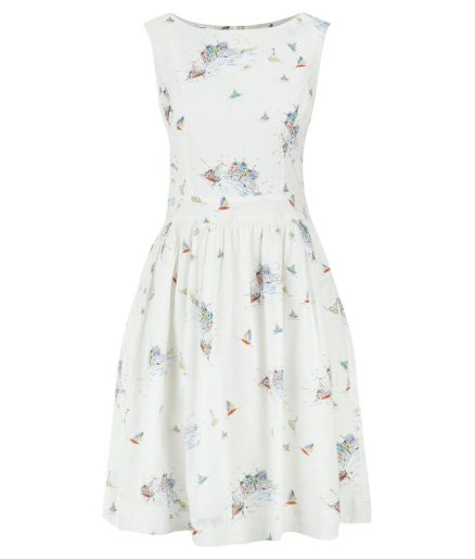 Padstow Print Prom Dress £59.50 from Oliver Bonas