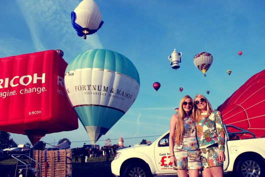 She and Hem | Bristol Balloon Fiesta 2014