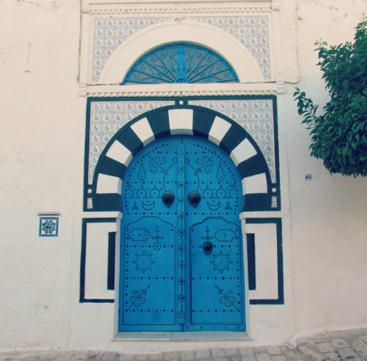 Hem and Away | Sidi Bou Said | Tunisia | She and Hem