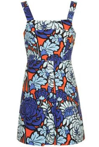 Paris Floral Pinny Dress £48 from Topshop