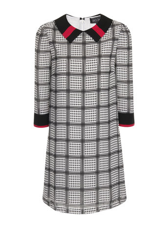 Girls On Film Dogtooth Check Collared Dress £45 from Dorothy Perkins