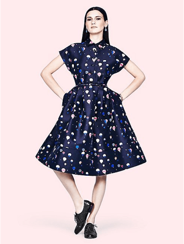 Balloon Fit and Flare Shirtdress £410 from Kate Spade