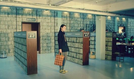 Orla Kiely Autumn/Winter 2015 | London Fashion Week | #allquietinthelibrary