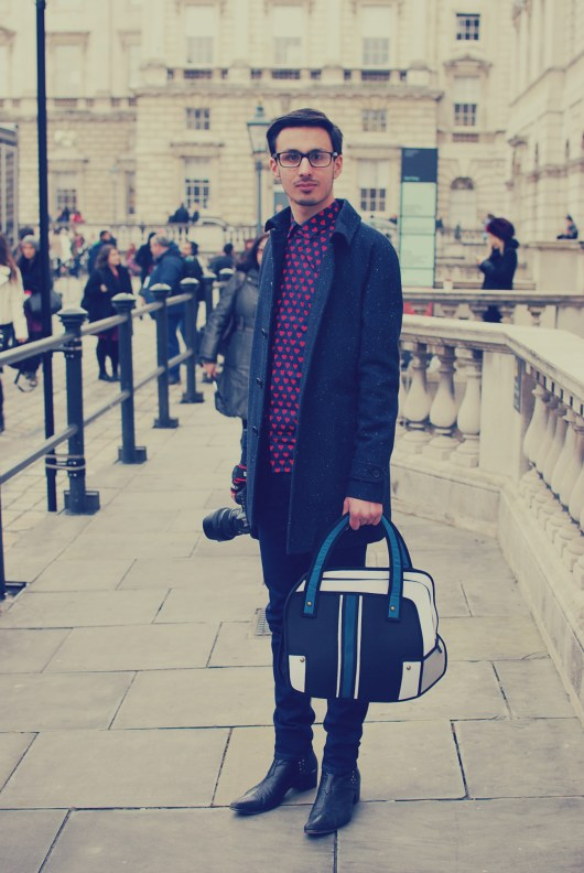 London Fashion Week Autumn Winter 2015 | Street Style | She and Hem | Outfit of the Day 1