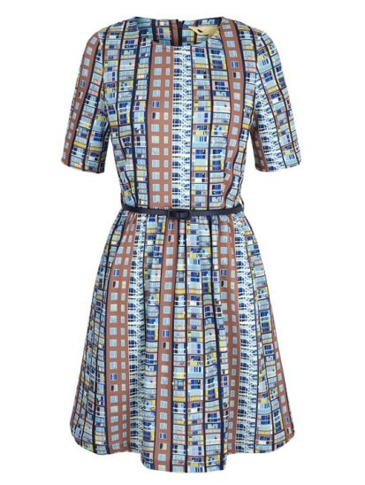 Building Block Print Day Dress £60 from Yumi