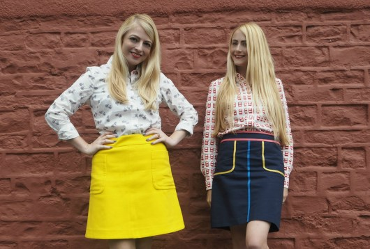 Top to Toe-den in Boden | She and Hem | 60's skirts, suede and capes!