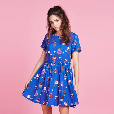 Cookie dress £65 from Lazy Oaf