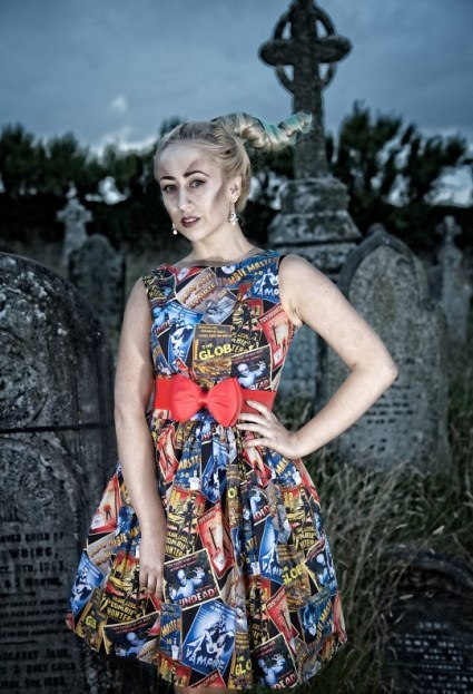 1950's Style Zombie Movie Poster Dress £95 from Silly Old Sea Dog