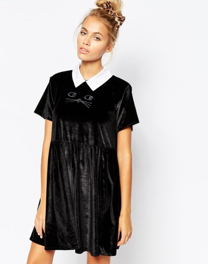 Lazy Oaf Cat Collar Dress £45 from ASOS