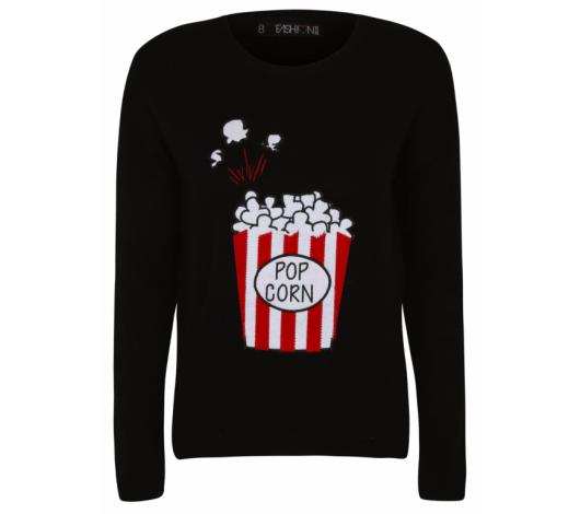 Fashion Box Popcorn Jumper £14 from George and Asda