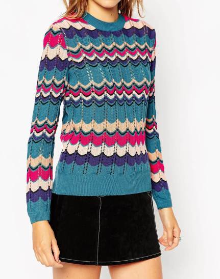 Jumper In Retro Chevron Stripe £30 from ASOS