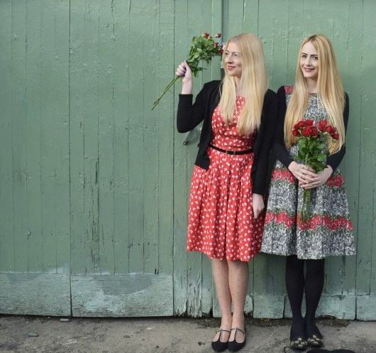 Red Roses and Valentine's Day Poses | She and Hem | Emily and Fin