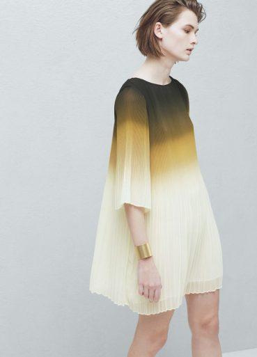 Pleated Dress £79.99 from Mango