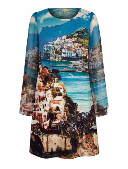Amalfi Coast Print Tunic Dress £50 from Yumi