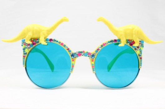 BLINGSTER BRONTO rainbow fun sunglases | Spangle | She and Hem