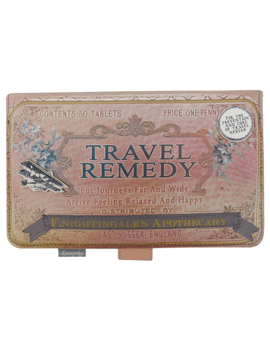 Apothecary Print Travel Wallet | Yumi | She and Hem
