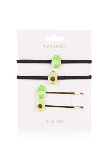 Avocado Hairties £8 from Topshop