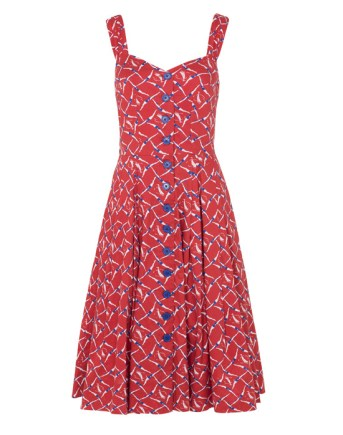 Synchronised Swimmers Dress £75 by Emily and Fin at Aspire Style/Modcloth