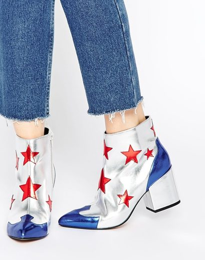 ADIO HOTSHOT Western Ankle Boots £45.00 from ASOS