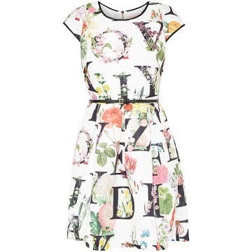 Lusara A-Z Ditzy Floral Dress £179 by Ted Baker at John Lewis