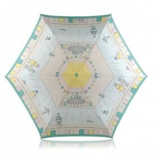 Lido Mini Crooked Handle Telescopic Umbrella £30 from Radley