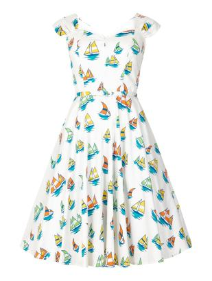 Aida Zak Sandra Boat Print Dress £38.50 from Collectif